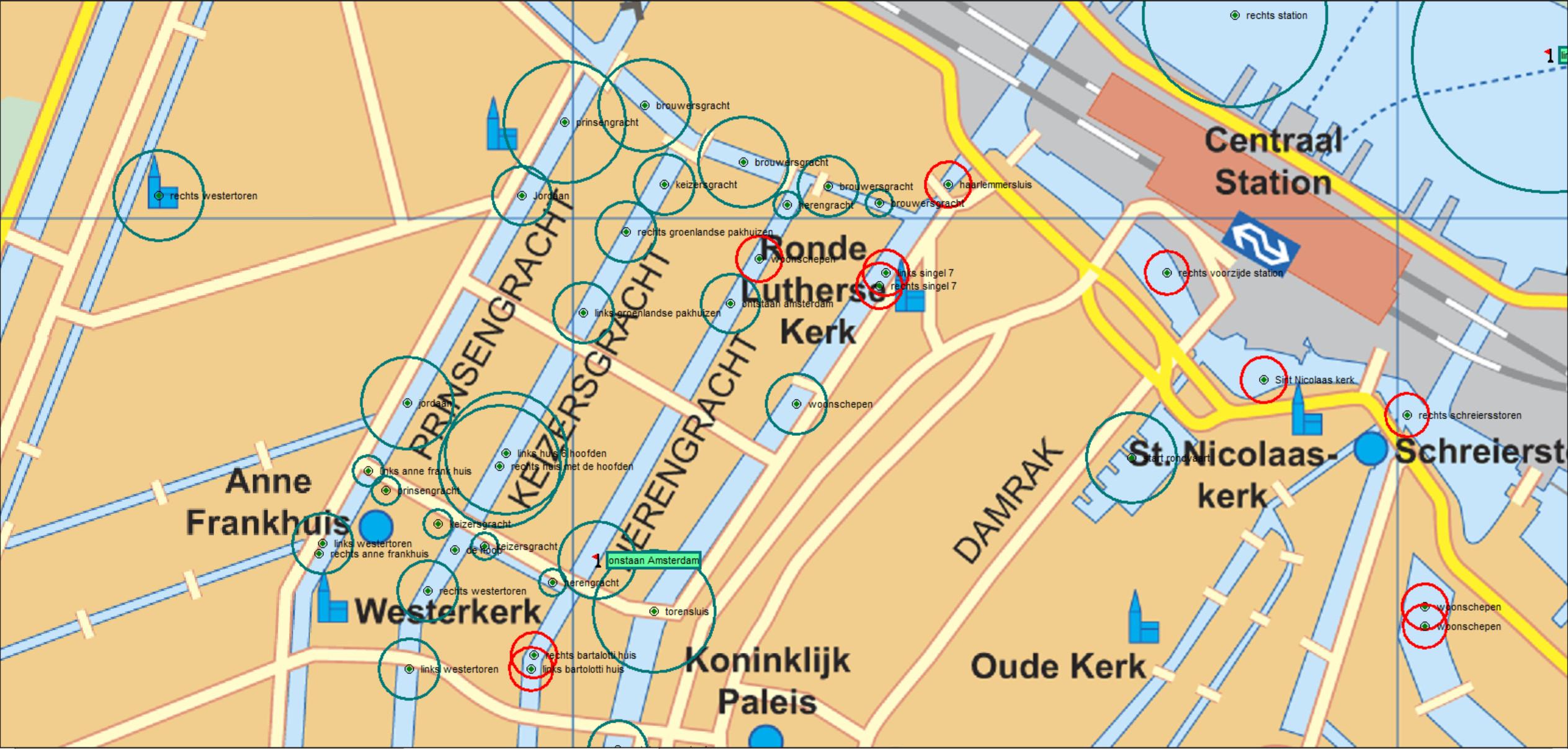 GPS gestuurd tour guide
